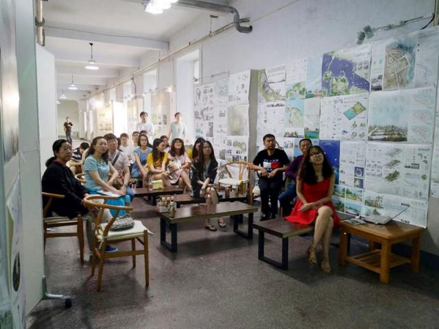《生态公园设计》课程教学成果汇报活动成功举行